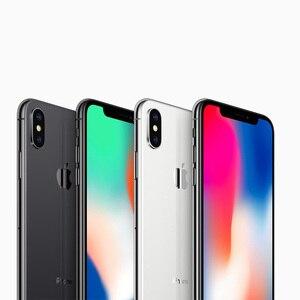 """Image 3 - Tout nouveau Apple iPhone X 5.8 """"OLED Super écran rétine 4G LTE FaceID 12MP caméra Bluetooth IOS 11 IP67 étanche"""