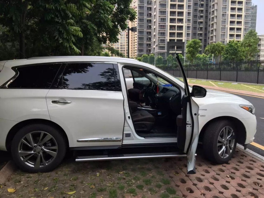 aluminium Automatic scaling Electric pedal side step running board for Oil-electric hybrid QX60 2015+