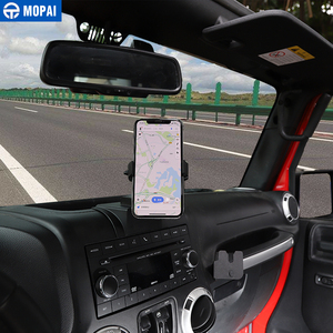 Image 4 - MOPAI ABS Car Navigation GPS Bracket Mount IPad/Mobile Phone Holder for Jeep Wrangler 2011 2017 Car Accessories Styling
