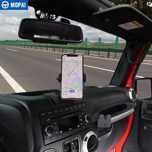 Image 4 - MOPAI ABS di Navigazione Per Auto GPS Staffa di Montaggio IPad/Supporto Del Telefono Mobile per Jeep Wrangler 2011 2017 Accessori Auto styling