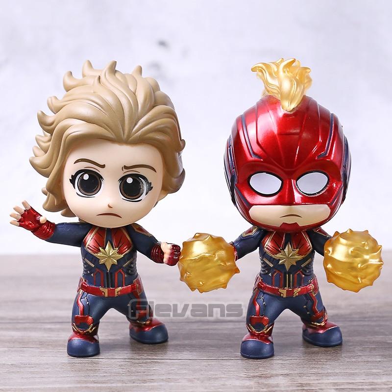 Avengers Endgame Captain Marvel Cosbaby Starforce Masked Ver Decorated Figure