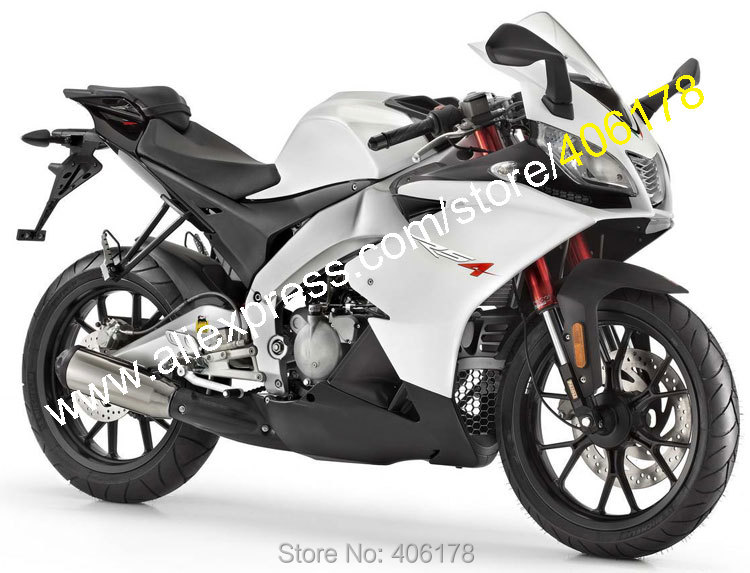 Hot Sales,For Aprilia RSV4 1000 2009-2015 RS V4 09 10 11 12 13 14 15 White Black Motorcycle Fairing Kit (Injection molding) 14 15 3 2015