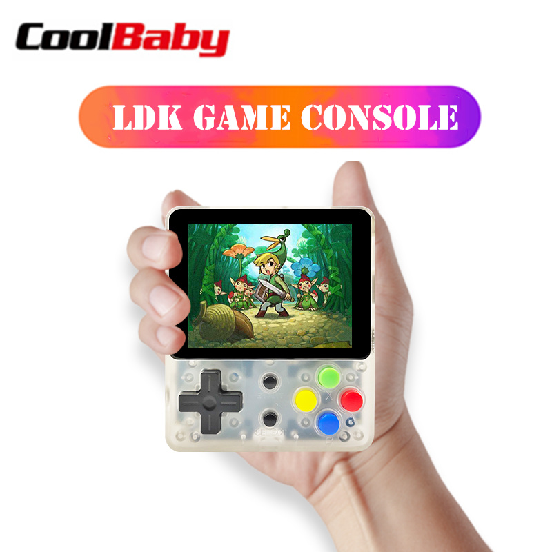CoolBaby LDK video game console Mini Retro Handheld Game players OPEN SOURCE portable Console HD Retro Mini consola boy tetris