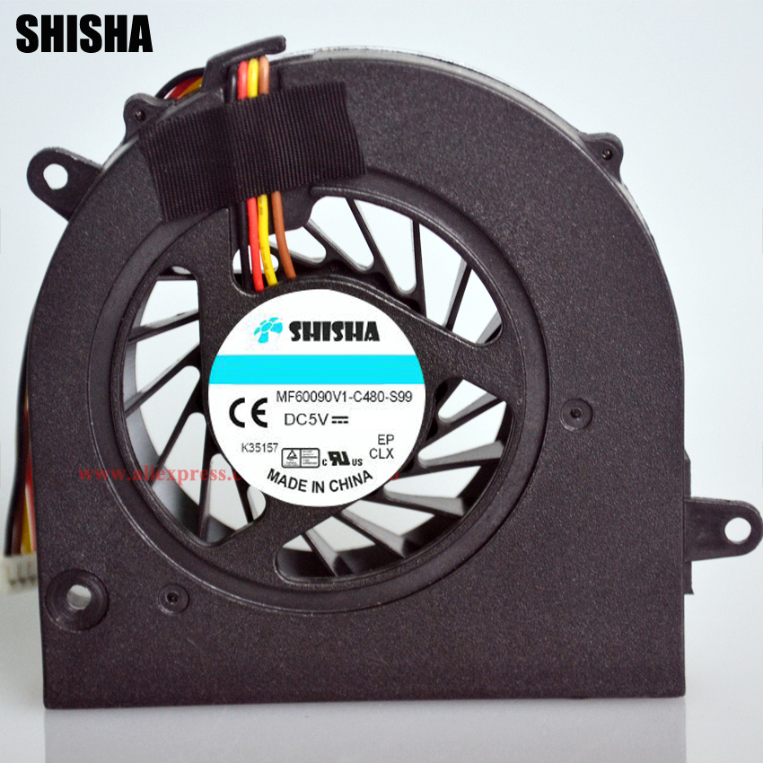 Shisha Original G460 laptop coolers for LENOVO Ideapad G570 G560 Z465 Z560 Z565 cooler New G465 Z460 notebook cpu cooling fan generic led lvds video cable for ibm lenovo g560 z560 15 series new notebook replacement accessories p n dc02000zi10 1ab54i00323
