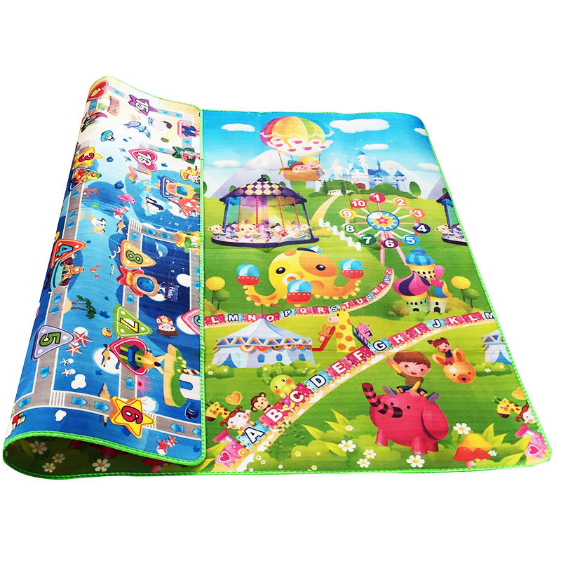 Baby Crawling Puzzle Play Mat Blue Ocean Playmat EVA Foam Kids Gift Toy Children Carpet Outdoor Baby Crawling Puzzle Play Mat Blue Ocean Playmat EVA Foam Kids Gift Toy Children Carpet Outdoor Play Soft Floor Gym Rug
