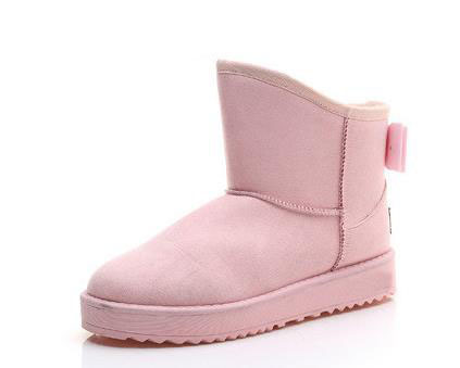 Women's shoes to keep warm in winter snow boots bowknot more female students short boots plus velvet cotton shoes and boots chbaby babysing yoyo yuyu vovo umbrella car cart set winter cover against wind and snow to keep warm the feet