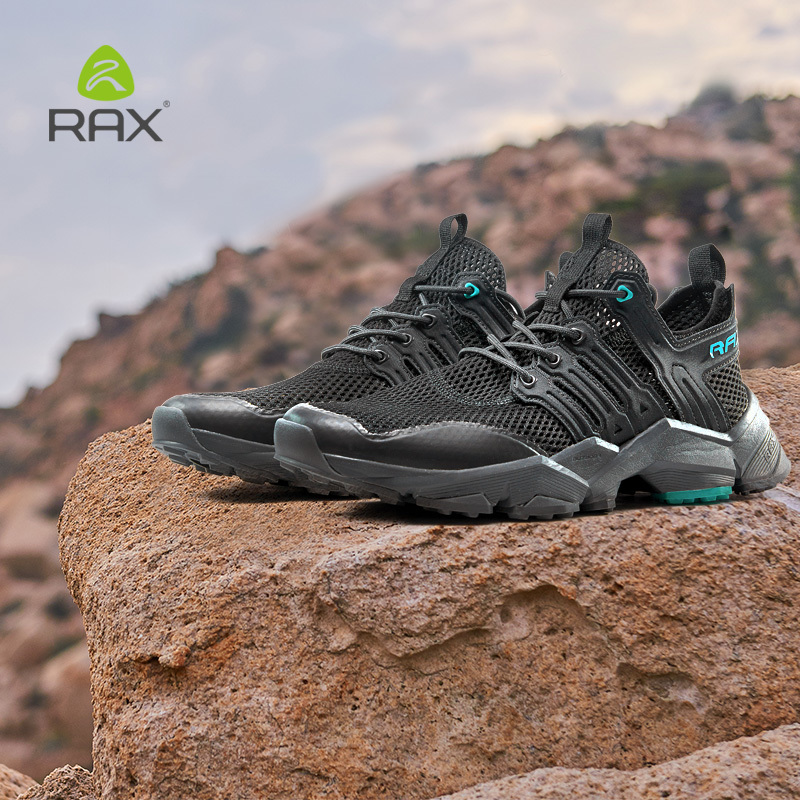 Rax Outdoor Hiking Shoes Men Sports Shoes Breathable Sneakers Women Climbing Mountain Shoes Men Zapatos De Hombre