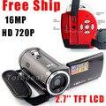 """Campark originais 720 p profissional câmera digital filmadora câmera de vídeo foto 2.7 """"tft câmeras digitais bateria li-ion incluído"""