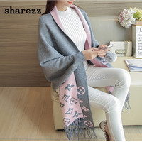 Autumn poncho Long Cardigan Female Batwing Sleeve Knitted Cardigans Women Sweater Tassel Ponchos European and American cloak