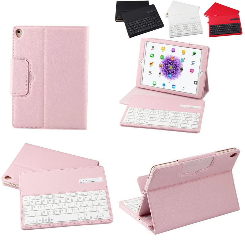 English <font><b>Keyboard</b></font> For 9.7 inch Apple <font><b>iPad</b></font> 2017 2018 /Pro 9.7/<font><b>iPad</b></font> Air 2 <font><b>iPad</b></font> <font><b>6</b></font>/<font><b>iPad</b></font> Air <font><b>iPad</b></font> 5 Wireless Bluetooth <font><b>Keyboard</b></font> <font><b>Case</b></font> image