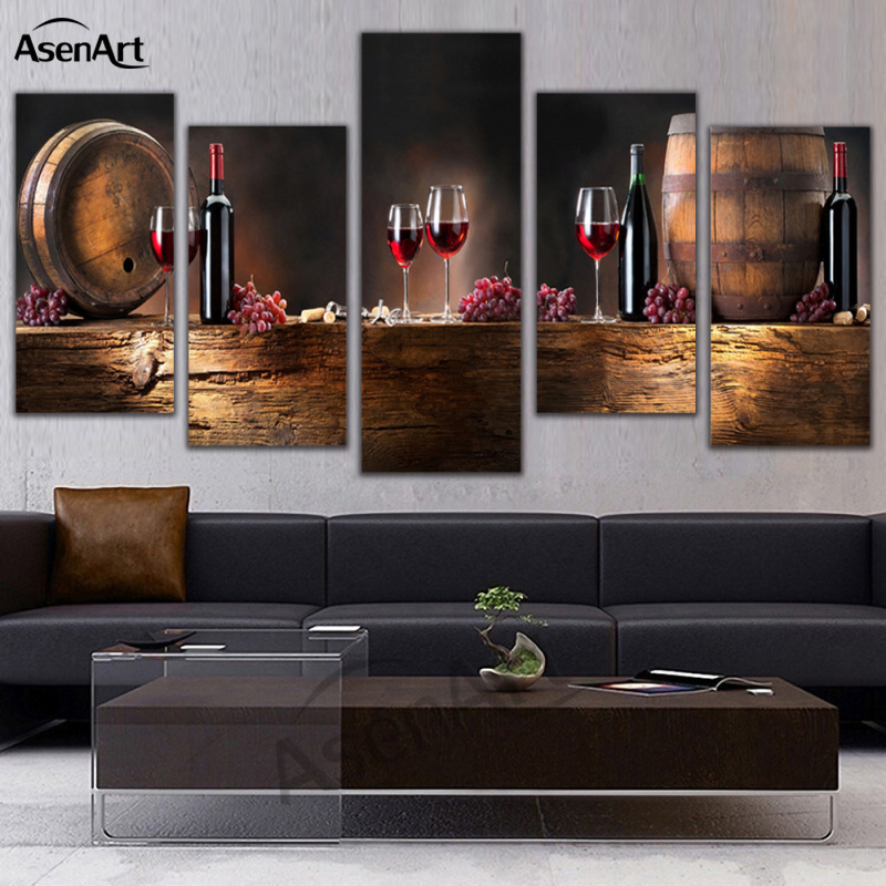 HD Prints Paintings Living Room Decor Grapes Posters 5
