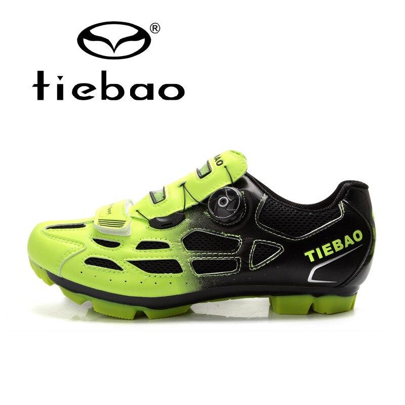 Tiebao Professional Cycling Bicycle Shoes Self-locking Cycling Shoes Breathable Sneakers Men Bike Shoes Sapatos de ciclismo original li ning men professional basketball shoes