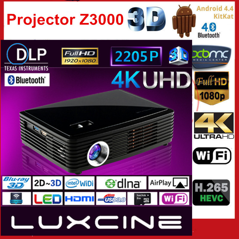 Aliexpress.com : Buy 2017 NEW Luxcine 4K DLP LED Z4000