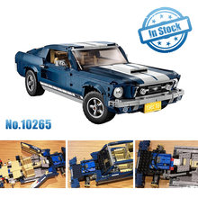 Forded Mustanged Creator Expert Technic Compatible Legoings 10265 Set Building Blocks Bricks Assembled DIY Toys Birthday Gifts(China)