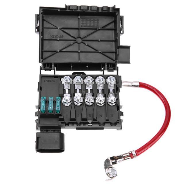VODOOL Автомобильная вставка-предохранитель Батарея терминал аксессуар для Volkswagen Bora Golf Mk4 98-05 авто аксессуары Батарея предохранителей стайлинга автомобилей