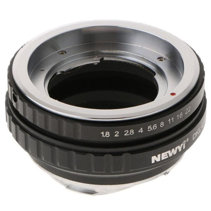 NEWYI DKL LM Adapter for Voigtlander Retina Deckel Lens to Leica M TECHART LM EA7 camera Lens Converter Adapter Ring-in Lens Adapter from Consumer Electronics