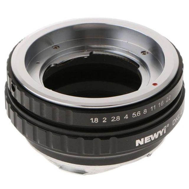 NEWYI DKL LM adaptateur pour Voigtlander Retina Deckel lentille à Leica M TECHART LM EA7 caméra lentille convertisseur adaptateur anneau