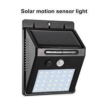 Outdoor 30 LEDs Solar Powered Light Bulb PIR Motion Sensor 3 Modes Waterproof Garden Street Night Lamp wall spot floodlight ip65