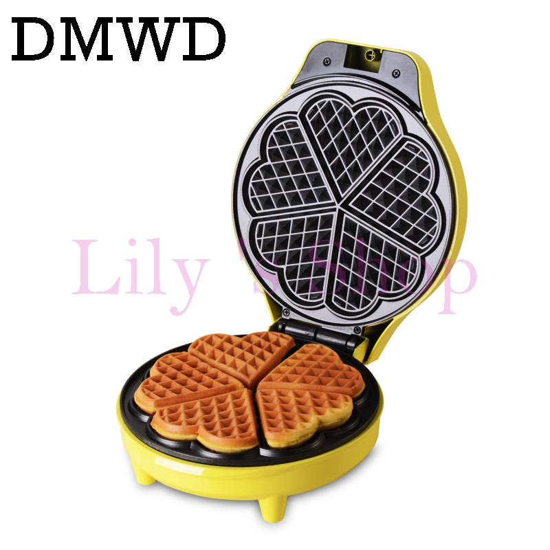 Electrical mini Egg cake oven QQ Egg Waffle Maker grill small egg waffle machine crept breakfast crepe baking machine EU US plug dmwd electric waffle maker muffin cake dorayaki breakfast baking machine household fried eggs sandwich toaster crepe grill eu us