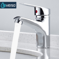MEOTIYS Kitchen Faucet Chrome Single Handle Single Hole Bathroom Basin Sink Faucet Cold And Hot Mixer