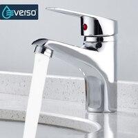 MEOTIYS Kitchen Faucet Chrome Single Handle Single Hole Bathroom Basin Sink Faucet Cold And Hot Mixer