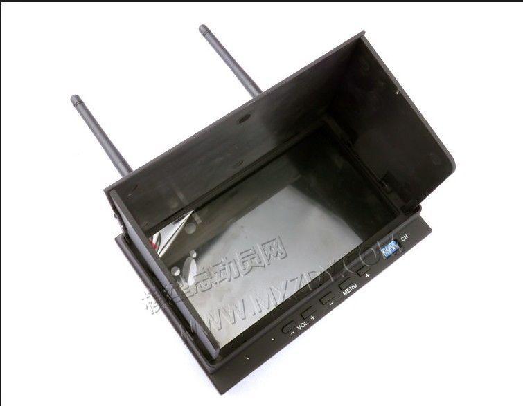 Небо-702 FPV-системы 7-дюймовый LED Экран двухчастотный 32 точка разнообразие получать Мониторы