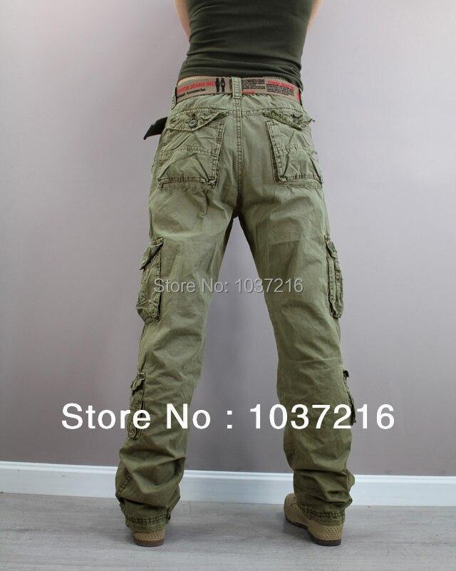 Free shipping New Fashion plus size Green Denim camouflage ...
