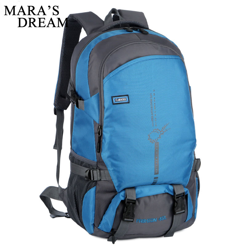 Mara's Dream New Women Men's Backpacks Solid Travel Bag Casual Large Capacity Simple Big Backpack High Quality Shoulder Bags high quality pu leather backpack women large capacity travel portable shoulder bags girl preppy style school bag new backpacks