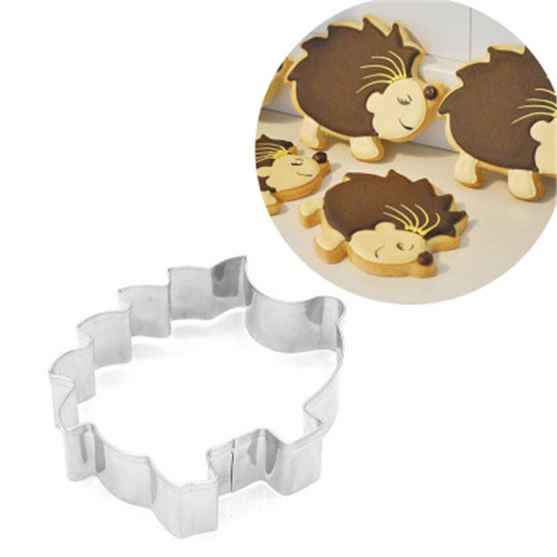 Animal Suit Baking Mold for Stainless Steel Baking Accessories Hedgehog Mold Decoration Baking Tools New 2019