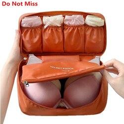 Не пропустите бюстгальтер нижнее белье дорожная сумка чемодан Органайзер женская косметичка органайзер для багажа для нижнего белья Макия...