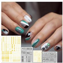 3d nail sticker Hanyi series Geometric triangle design HAXX-54 55 58 59 decal decorations