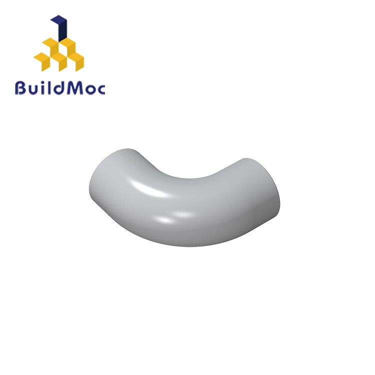 Buildmoc compatível monta partículas 25214 1x1 para blocos de construção peças diy logotipo educacional tecnologia peças brinquedos