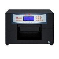 Низкая стоимость УФ-принтер a4 цифровой Кожа 3D эффект принтера