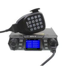 Qyt KT 980 プラストランシーバー 75 ワット vhf/55 ワット uhf デュアルバンドクワッドスタンバイ KT 980Plus 車ラジオ携帯アマチュア無線