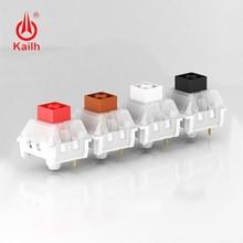 цена на kailh box Switch Mechanical Keyboard  diy RGB/SMD Black Red Brown White switch Dustproof IP56 waterproof Compatible Cherry MX