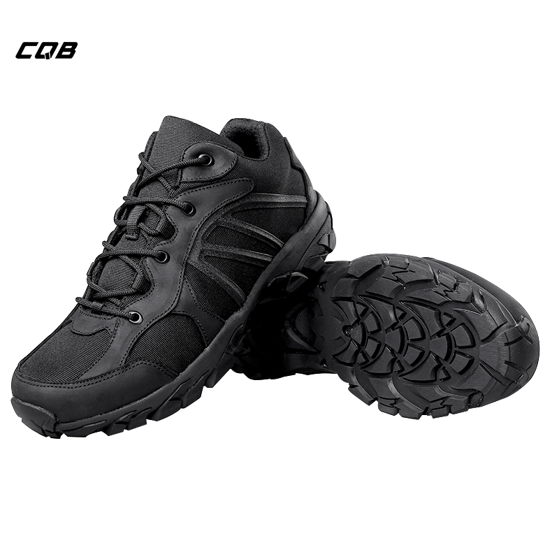 CQB Outdoor Sports Tactical Military Sneaker for Camping Men's Shoes for Climbing Hiking Non-slip Wear-resistant mulinsen winter men s sports hiking shoes blue brown khaki sport shoes inside plush wear non slip outdoor sneaker 240888