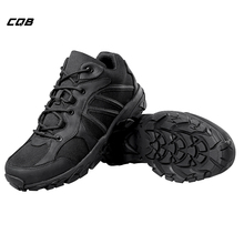 цены CQB Winter Panther Cross-country Tactical Outdoor Shoes Men Climbing Hiking Shoes Non-slip Shock absorption Boots CXZ0245