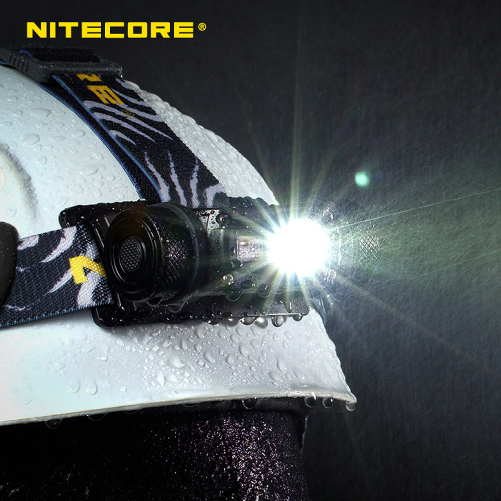 Image 2 - NITECORE HC65 headlight CREE XM L2 U2 1000 Lumes rechargeable flashlight waterproof camping trip 18650 battery-in Headlamps from Lights & Lighting