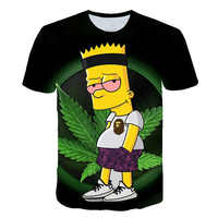 3d druck simpson rauchen unkraut t shirts/sweatshirts/hoodies/hosen männer lustige t street hiphop pullover trainingsanzug tops shorts
