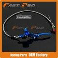 900 мм Синий Гидравлический Рычаг Сцепления Главный Цилиндр Для 50-125cc Вертикальный Двигатель Offroad Мотоцикл Байк ATV Бесплатная Доставка
