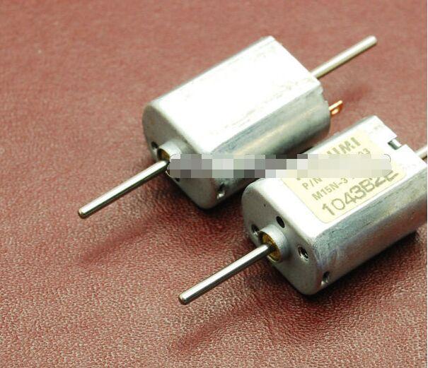 10pcs Mitsumi DC Micro Motor Carbon Brush Motor MOTOR Dc Biaxial 030 Motor Long Axis 12V Current 0.055A 13500 RPM
