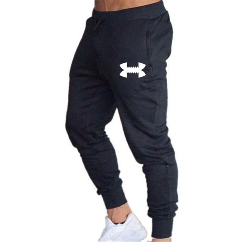 Men Trousers Quality Running Pants Men Joggers Sweatpants Brand Logo Fashion Printed Sport Trousers Gym Joggers Fitness Pants