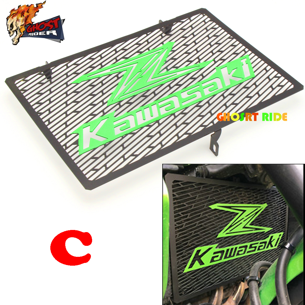 2016 New Arrival Stainless Steel Motorcycle radiator grille guard protection Kawasaki Z750 Z800 ZR800 Z1000 Z1000SX new motorcycle stainless steel radiator grille guard protection for yamaha tmax530 2012 2016