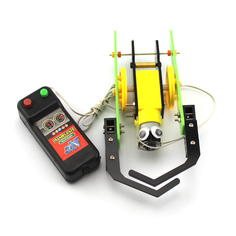 Happyxuan DIY Children Science Experiment Toy Remote Control Robot ...