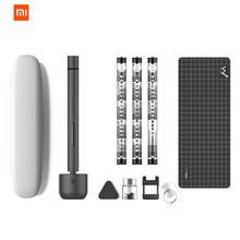 Original Xiaomi mi jia Wowstick 1F + 64 en 1 tornillo eléctrico mi controlador inalámbrico de carga de iones de litio LED Power Screw mi jia kit de controlador