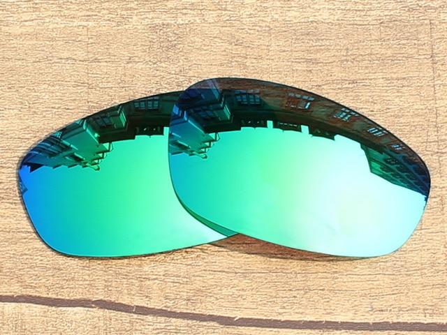 Espejo verde esmeralda polarizado Objetivos para split jacket Gafas ...