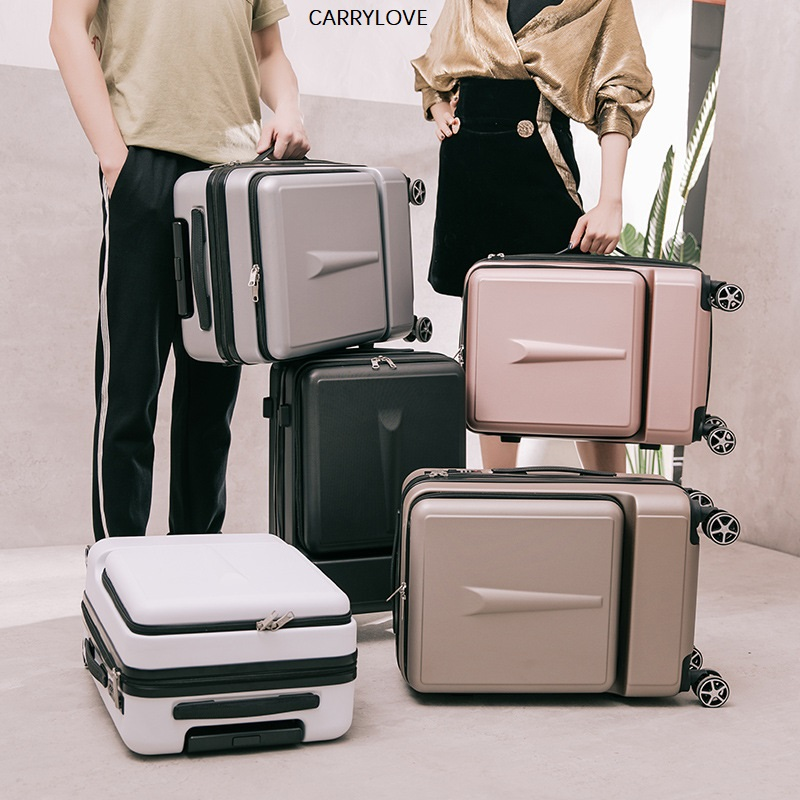 CARRYLOVE Luggage,20 inch men's business boarding Box,Universal wheel suitcase,New front computer bag
