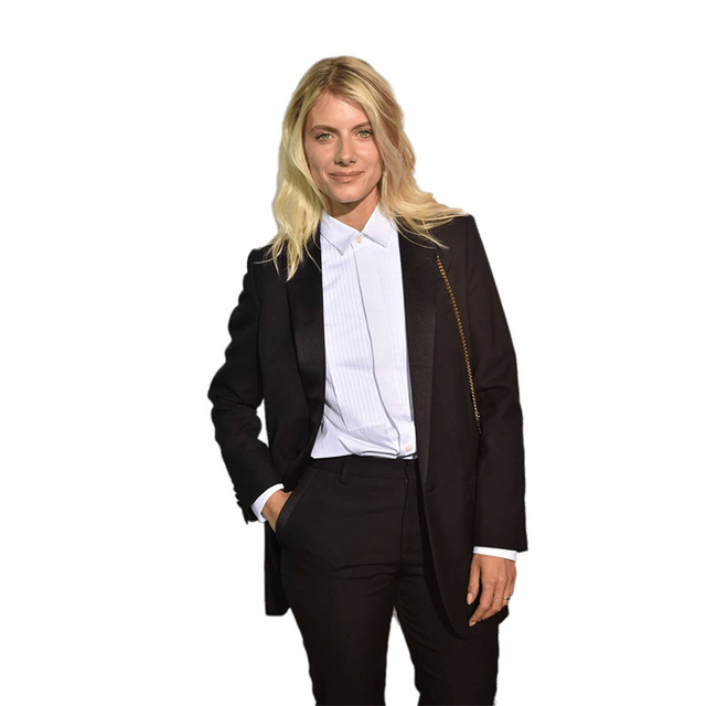 Autumn Black Formal Elegant Womens Business Suit Set Blazers And Pants  Office Suits Ladies Pants Suits Trouser Suits a6c0ff68e