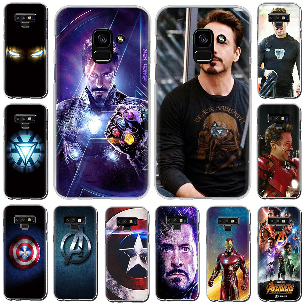 iron Man Hard Phone Cover Case For Samsung Galaxy A7 A8 A9