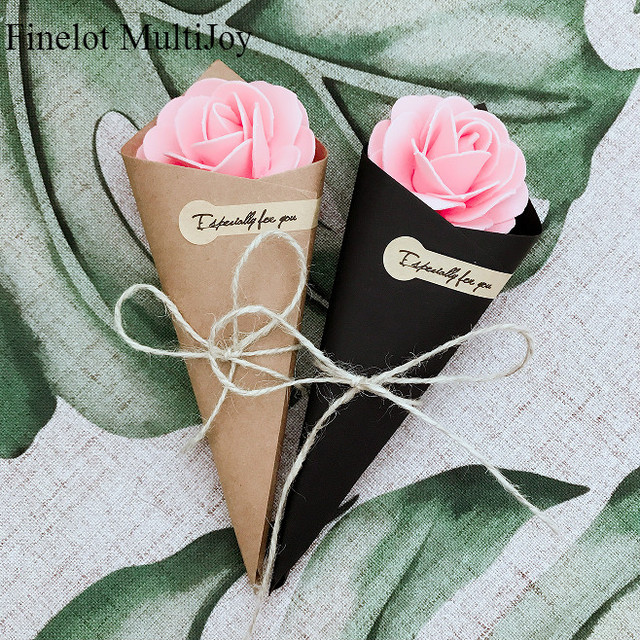 Incredible Us 11 3 13 Off 50 Pcs Wedding Favors Diy Brown Black Kraft Paper Cones Candy Boxes Ice Cream Wedding Table Decor Party Gift Box Flower Holder In Download Free Architecture Designs Rallybritishbridgeorg
